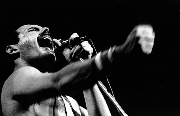Freddie Mercury Singing - Music Makers Calgary