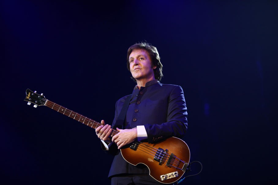 Paul McCartney, bass player